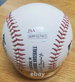 Autographed VLADIMIR GUERRERO HOF 18 Official Major League Baseball JSA Holo