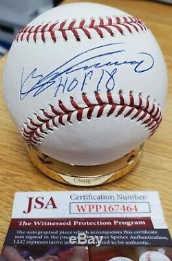Autographed VLADIMIR GUERRERO HOF 2018 Official Major League Baseball JSA