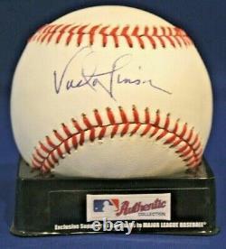 Autographed Vada Pinson Official Rawlings American League Baseball JSA COA