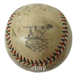 Babe Ruth HOF Yankees Single Signed D&M Official League Baseball JSA 160648