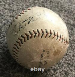 Babe Ruth Lou Gehrig Signed American League Official MLB Baseball Yankees Rare