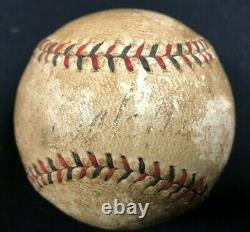 Babe Ruth Official Vintage National League Spalding Baseball Auto JSA Letter
