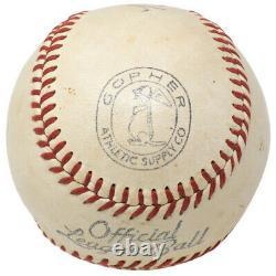 Babe Ruth Signed Yankees Official League Baseball PSA/DNA LOA B28435