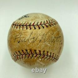 Babe Ruth Single Signed Autographed 1929 Official American League Baseball JSA