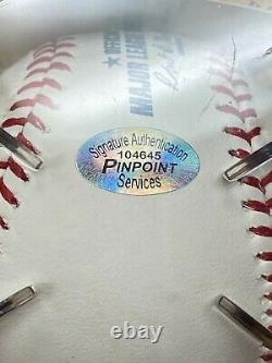 Barack Obama Signed Official Major League Baseball COA