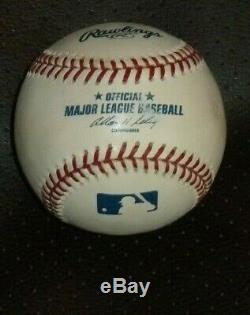 Barack Obama Signed Official Major League Baseball With Deluxe Display Case