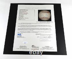 Barack Obama Signed Official Minor League Baseball JSA Auto DA037397