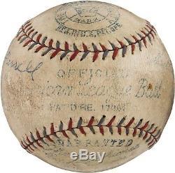 Beautiful 1932 Heinie Manush Signed Official American League Baseball PSA DNA