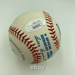 Beautiful Joe Dimaggio Signed Autographed Official American League Baseball JSA