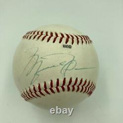 Beautiful Michael Jordan Rookie Signed 1994 Official Minor League Baseball JSA