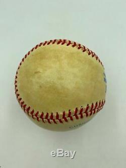 Beautiful Roger Maris Single Signed Official American League Baseball JSA COA