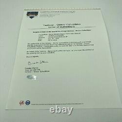Bernie Williams Signed 2006 Game Used Official Major League Baseball Steiner COA