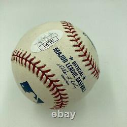Bernie Williams Signed Autographed Official Major League Baseball With JSA COA