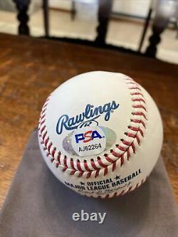 Bo Bichette Signed Official Major League Baseball Psa Dna Coa Toronto Blue Jays