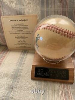 Bo Jackson Autographed Signed Baseball Official American League Ball COA