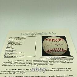 Burt Reynolds Signed Autographed Official Major League Baseball With JSA COA