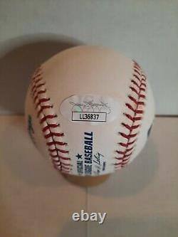 Chase Utley Autograph Signed Official Major League Baseball OMLB (Selig) JSA