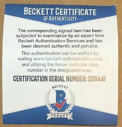 Chipper Jones Signed Official Mlb Major League Baseball Autograph Beckett Bas