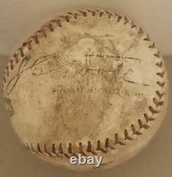 Circa 1919-24 Official National League NL International League Baseball JC Toole