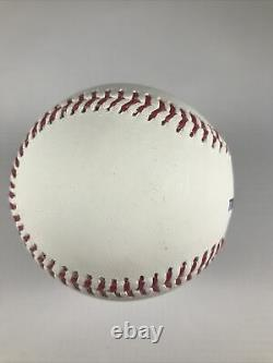 Cleveland Indians Mets Francisco Lindor Signed Official Major League Baseball