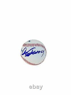 Clint Eastwood Official Major League Signed Baseball JSA Z08555