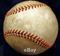 Connie Mack Single Signed Official American League William Harridge Baseball Hof