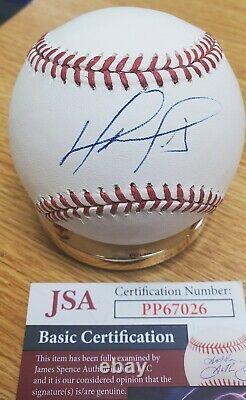DAVID ORTIZ Autographed Official Major League Baseball JSA COA
