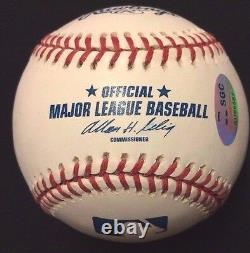 David Ortiz Autographed Official Major League Baseball Red Sox SGC Big Papi