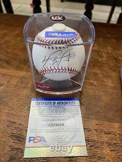 David Ortiz Signed Official Major League Baseball PSA DNA Coa Boston Red Sox