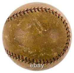 Dazzy Vance 1924 MVP Season Signed Official National League Baseball PSA DNA COA