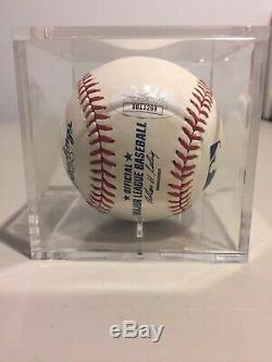 Derek Jeter Autographed Official Major League Baseball (JSA) Crisp Signature