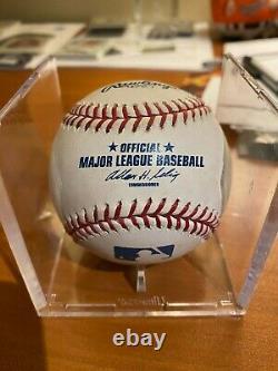 Derek Jeter Official Major League Baseball autographed baseball