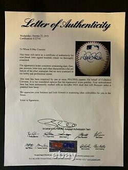 Derek Jeter Signed Official Major League Autographed Baseball Psa/dna Coa