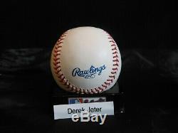 Derek Jeter Signed Rawlings Official Major League Baseball N. Y. Yankees -sale