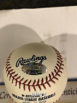 Derek Jeter Yankees Signed Official Major League Baseball Steiner COA