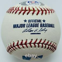 Dodgers Clayton Kershaw Signed Official Major League Baseball. PSA/DNA #AJ57973