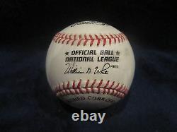 Don Drysdale Autographed Official National League (White) Baseball JSA L. O. A