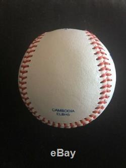 Donald Trump Signed Autographed Rawlings Official League Baseball GA LOA POTUS