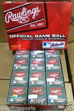 Dozen Rawlings Official Leather Major League Baseballs Romlb Mlb Qty-12 Manfred