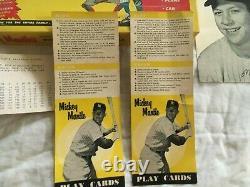 E53 Vintage 1950's Official Mickey Mantle Big League Baseball Game