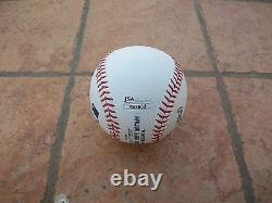Eddie Vedder Signed Official Major League Baseball Jsa Coa