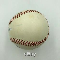 Elton John Single Signed Official Major League Baseball PSA DNA Graded MINT 9