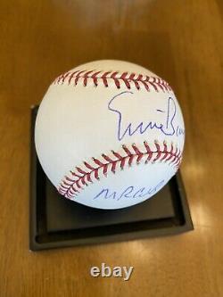 Ernie Banks Mr. Cub Signed Autographed Official Major League Baseball RJ COA