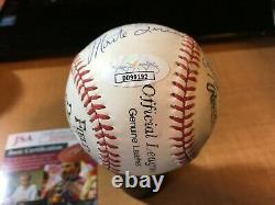 Field of Dreams Official League Baseball Signed by 6 HOFers PLUS JSA Certified