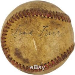 Frankie Frisch Single Signed Official National League Baseball PSA DNA COA