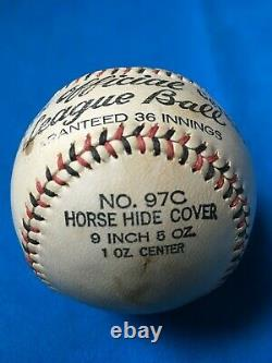 GORGEOUS vintage 1926/33 Goldsmith Official League Baseball No 97 with box RARE