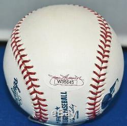 Gary Carter Autographed Official Major League Baseball Expos Mets Hof 03 Jsa