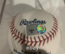 Gerrit Cole Autographed Official Major League Baseball MLB Authenticated Yankees