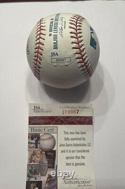 Gerrit Cole Signed official major league baseball withJSA COA