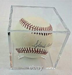 HOF 1982 Hank Aaron Autographed Baseball Official Ball National League with COA